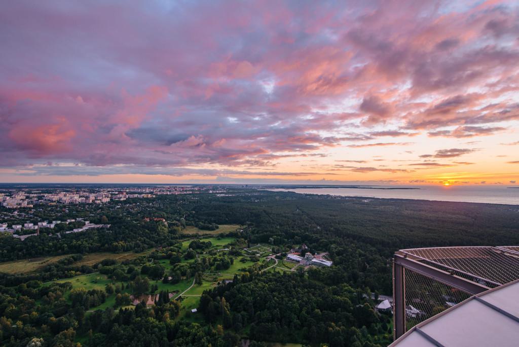Tallinna panoraamvaade Teletorn