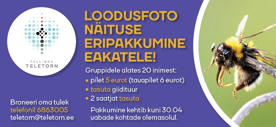 Tule Tallinna Teletorni!