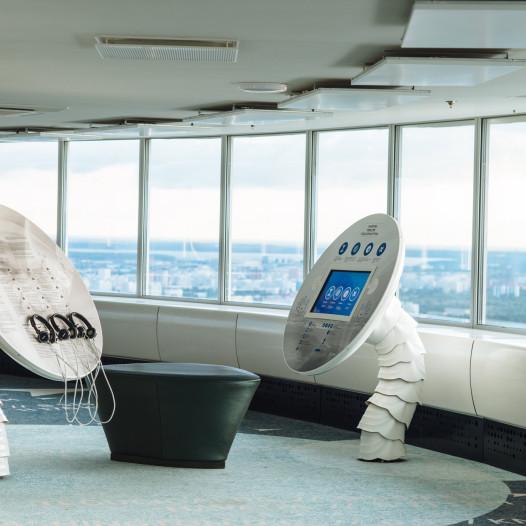 Tallinna Teletorni 21. korruse näitusesaal (Foto: Tõnu Tunnel)