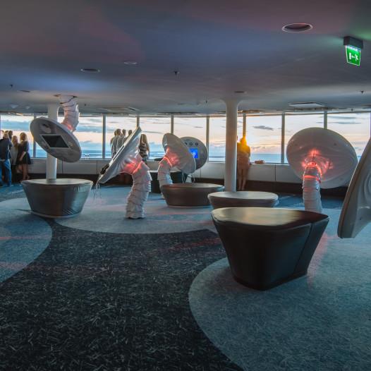 interaktiivne naitusesaal Tallinna Teletorn