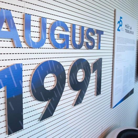 Taasiseseisvumispäeva tähistamine Tallinna Teletornis 19-20. august