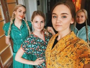 Халаты и передники советской женщины