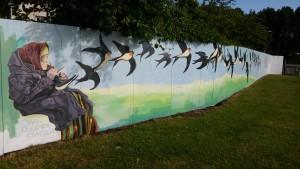 Kujundatud sein