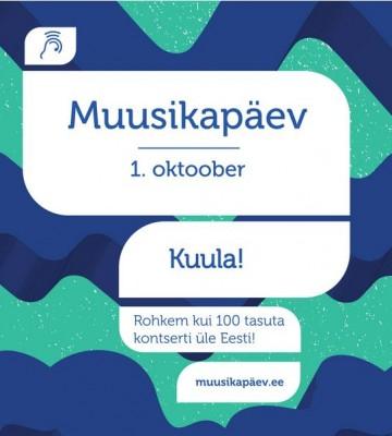 Rahvusvaheline Muusikapäev. Tallinna Kammerorkestri tasuta kontsert.