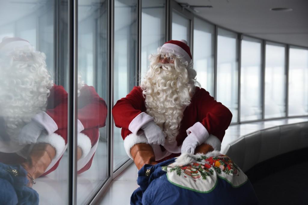 jõulupeod teletornis